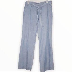 J Crew Factory city fit Highwaist Lounge pants Sz6